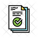 Work Report Color Icon