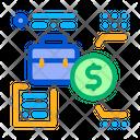 Salary Work Data Icon