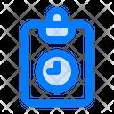 Work Schedule Task Planning Project Deadline Icon