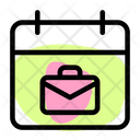 Work Schedule Project Deadline Task Planning Icon