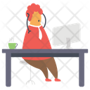 Work Stress Icon