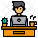 Work Desk Workplace Icon