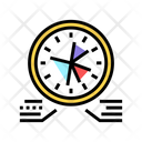 Planning Work Time Icon