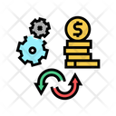 Work To Money Converter Work To Icon