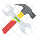 Spanner Wrench Hammer Icon