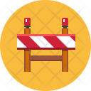 Construction Barrier Work Icon