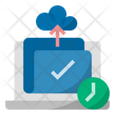 Work Uploading Time Icon