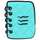 Workbook Writing Book Education Concept Icon