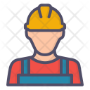 Worker Mechanic Construction Icon