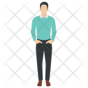 Male Avatar Employee Icon
