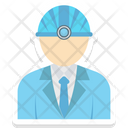 Worker Engineer Miner Icon