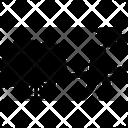 Cart Farmer Farming Icon
