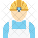 Worker Engineer Miner Icon