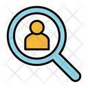 Worker Find User Search User Icon