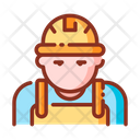 Worker Architec Engineer Icon