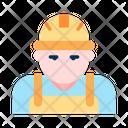 Worker Architec Engineer Icon