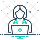 Worker Roustabout Operator Icon