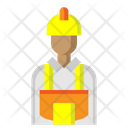 Worker Man Work Icon