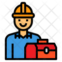 Engineer Avatar Worker Icon