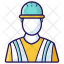 Worker Male Employee Staff Member Icon