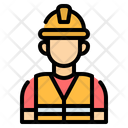 Worker Engineer Construction Icon
