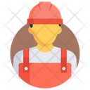 Engineer Labour Worker Icon