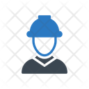 Worker Engineer Builder Icon