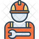 Worker Employee Practician Icon