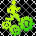 Worker Man Work Icon