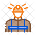 Miner Worker Mining Icon