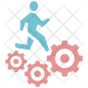 Worker Man Business Icon