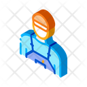 Tile Stacker Worker Icon