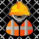 Worker Employer Builder Icon