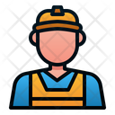 Worker Engineer Avatar Icon