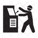 Worker Manufacturing Operator Icon
