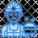 Worker Avatar Occupation Icon