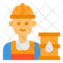 Worker Oil Refininery Avatar Icon