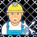 Labourer Worker Engineer Icon