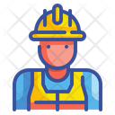 Worker Labor Man Icon