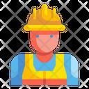 Worker Labor Man Icon