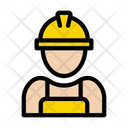 Worker Builder Engineer Icon
