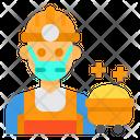 Worker Avatar Mask Icon