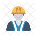 Worker Constructor Engineer Icon