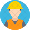 Engineer Worker Architect Icon