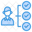 Worker Checklist Icon