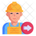 Worker Displacement Icon