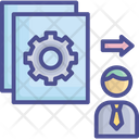 Document Employee Job Icon