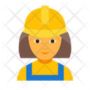 Worker female Icon