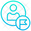 Worker Flag Icon