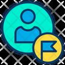 Avatar Business Flag Icon